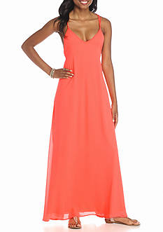 Fashion On Earth Strappy Maxi Dress