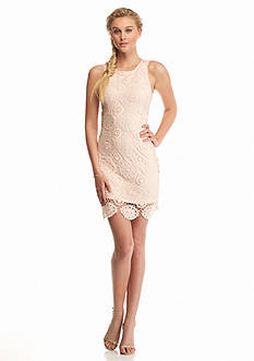 Fashion On Earth Sleeveless Lace Dress