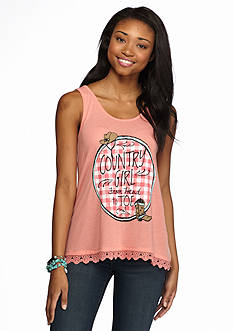 Red Camel 'Country Girl From Head to Toe' Tank
