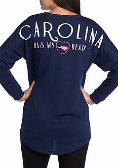 Red Camel State Has My Heart Sweeper North Carolina Tee