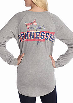 Red Camel Raglan Bow State Fan Tennessee