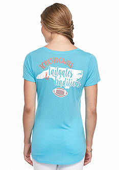 Red Camel North Carolina Pocket Tee 'Touch Down Tailgates'