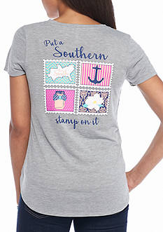 Red Camel Southern Stamp Pocket Tee