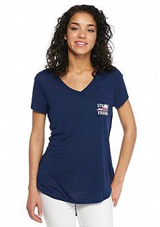 Red Camel 'Straight Out Of ' Virginia State Pocket Tee