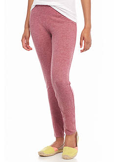 Red Camel Brushed Jersey Leggings