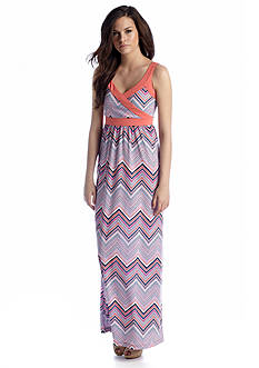 Megan Masters Cross Front Maxi Dress