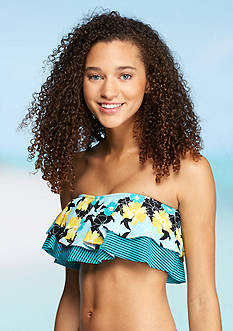 Urban Sea™ Humming Bird Stripe Flounce Bandeau Bra