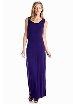 joan vass Sleeveless Maxi Dress