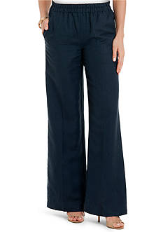 joan vass Relaxed Wide Leg Pant