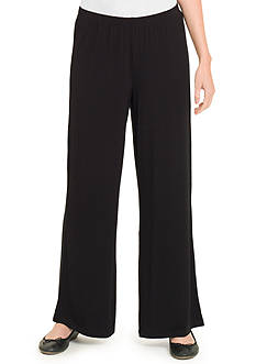 joan vass Relaxed Fit Pull On Pant