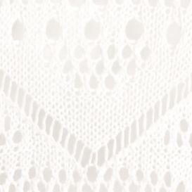 Joan Vass: Satin White joan vass Open Knit Pointelle Cardigan