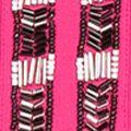 Beaded Shirts: Vibrant Rose joan vass Beaded Trim Blouse