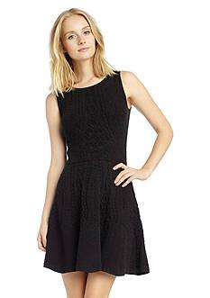 Sam Edelman Jaquard Sleeveless Dress