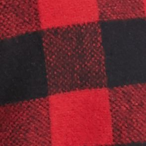 Junior Plus Size Coats: Red Plaid Rampage Plus Size Carrie Coat