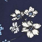 Casual Dresses for Juniors: Blue Jealous Tomato Floral Cold Shoulder Dress