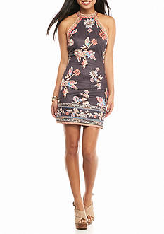 Flying Tomato Floral Halter Dress