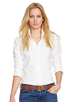 Polo Ralph Lauren Custom-Fit Washed Oxford Shirt