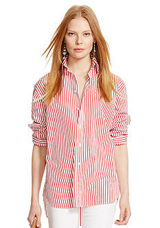 Polo Ralph Lauren Bengal-Striped Broadcloth Shirt