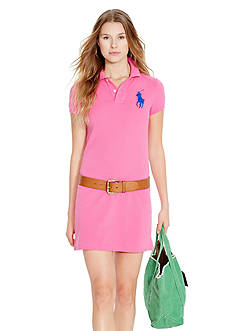 Polo Ralph Lauren Big Pony Mini Shirt Dress