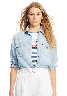 Polo Ralph Lauren Denim Western Shirt