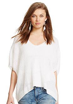 Polo Ralph Lauren Open-Knit Linen Sweater