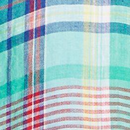 Polo Ralph Lauren Women Sale: Green/Navy Polo Ralph Lauren Plaid Linen Long-Sleeve Shirt