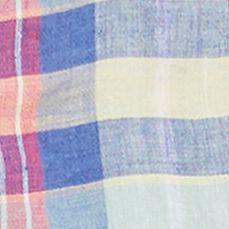 Polo Ralph Lauren Women Sale: Pink/Blue Polo Ralph Lauren Plaid Linen Long-Sleeve Shirt