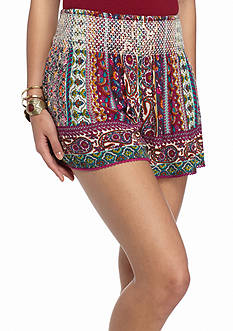 Patrons of Peace Smock Printed Shorts