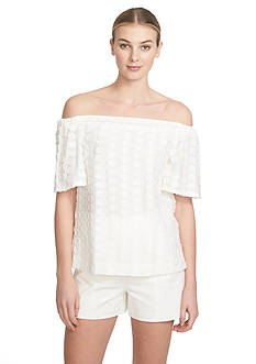 1.State Off The Shoulder Blouse