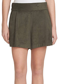 1.State Faux Suede Shorts