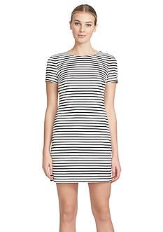 1.State Stripe V-Back Dress
