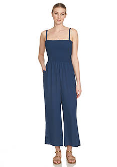 1.State Smock Bodice Jumpsuit
