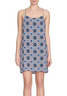 1.State Printed Slipdress