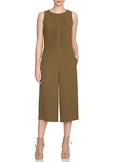 1. State Pleat Front Culotte Jumpsuit
