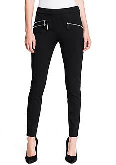 1.State Zipper Twill Legging