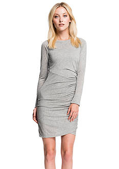 1.State Side Ruched Dress