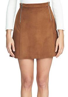 1. State A-Line Zipper Mini Skirt