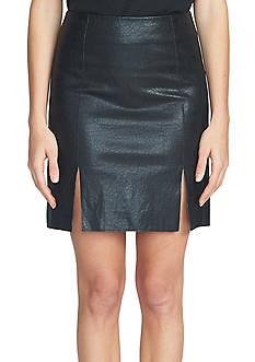 1. State A Line Mini Skirt