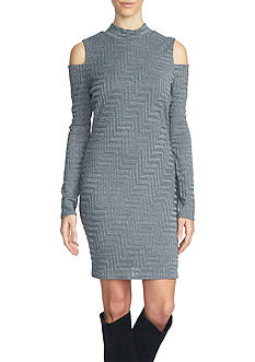 1. State Cold Shoulder Dress