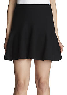 1.State Flounce Mini Skirt