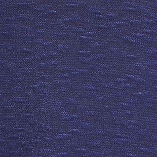New Directions Weekend Women's Plus Sale: Sodalite Blue Combo New Directions Weekend Plus Size Three-Quarter Sleeve Chiffon Hem Hacci Top