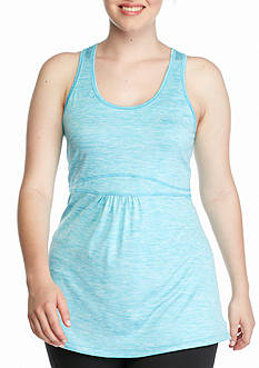 be inspired Plus Size Space Dye Bungee Tank