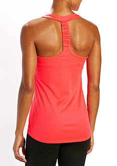be inspired Twist Back Mesh Tank