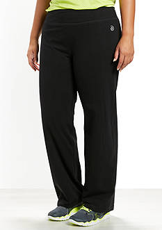 be inspired Plus Size Basic Workout Pants