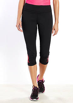be inspired Rubber Dot Performance Capris