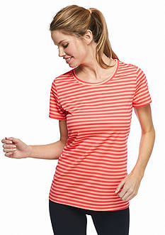 be inspired Striped Scoop Neck Tee