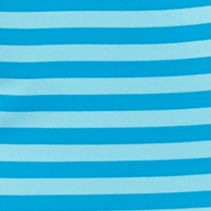 Women: Be Inspired Activewear: Blue Bayou be inspired Striped Scoop Neck Tee