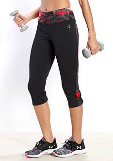 be inspired Performance Capri Print Inset