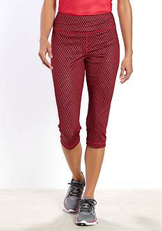 be inspired Slim Fit Performance Capri Pants