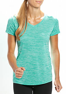 be inspired Short Sleeve V Neck Heather Tee